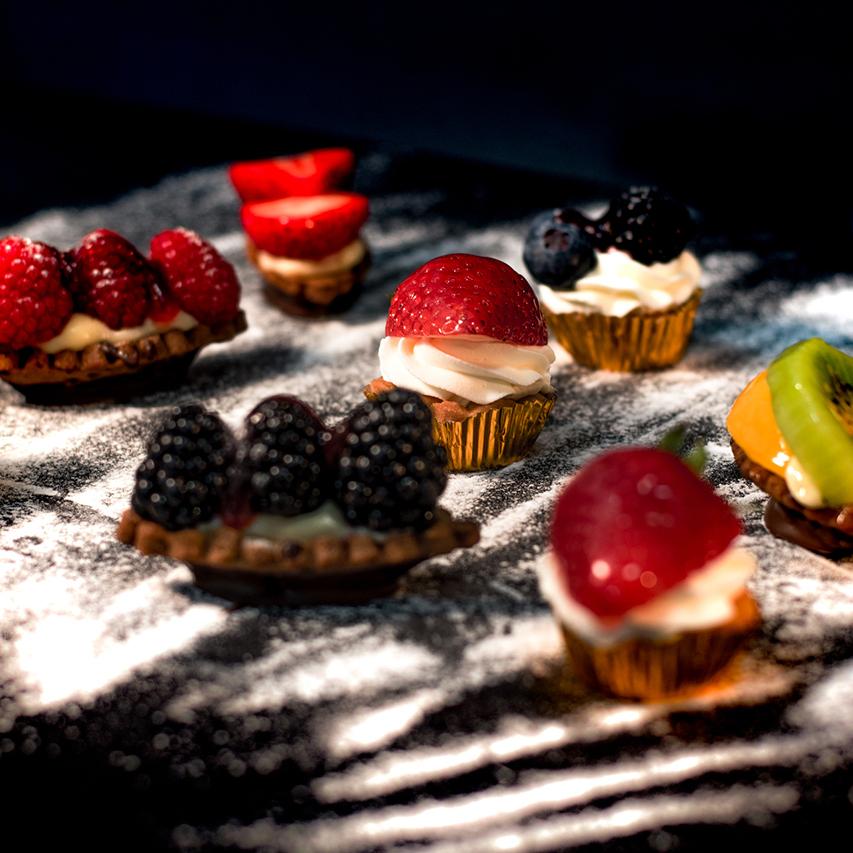 Dulces con frutas